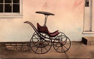 West Virginia Lewisburg General Lewis Hotel Baby Carriage Albertype