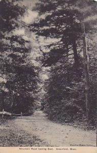 Scenic view, Mountain Road looking East, Greenfield,  Massachusetts, PU-1908