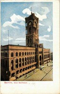CPA AK BERLIN Rathaus GERMANY (981116)