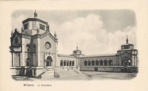 Ji Cimitero, Milano (Lombardy), Italy, 1900-1910s