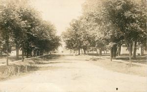 Branch Minnesota~Rock near Lake Shore 1922 Real Photo Postcard