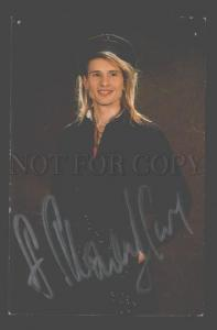 091192 AUTOGRAPH of Russian SINGER Alexander MALININ Old PHOTO