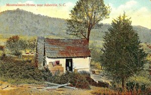 ASHEVILLE NC~MOUNTAINEER'S HOME~1907 POSTCARD