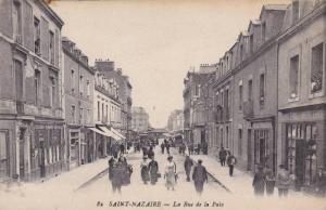 SAINT NAZAIRE , France , 00-10s ; La Rue de la Paix