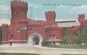 Ohio Columbus The Armory Ohio State University 1928