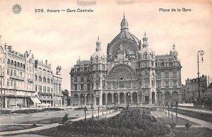 Gare Centrale Anvers Belgium Unused