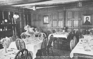 The Oak Panelled Dining Room, The Old Talbot Hotel Ledbury
