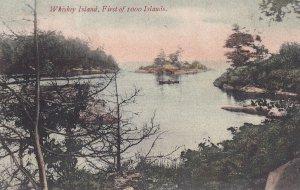 THOUSAND ISLANDS, Ontario, Canada, PU-1906; Whiskey Island
