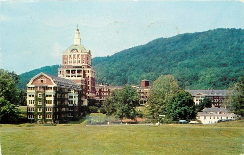 Hot Springs Virginia~Homestead & Grounds 1956