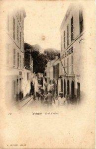 CPA AK Geiser 10; Bougie- rue Trézel, ALGERIE (765473)
