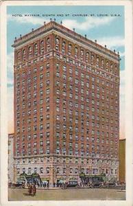 Missouri St Louis Hotel Mayfair Eighth And Street Charlews Street