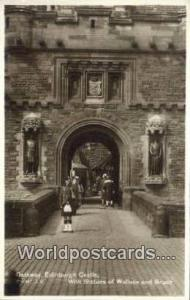 United Kingdom, UK, England, Great Britain Statues of Wallace & Bruce Edinbur...