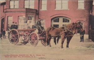 Niagara Engine Company No 5 Corner Olney and Hope Streets Providence Rhode Is...