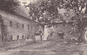 Pennsylvania Ephrata Saron and Saal Houses The Cloisters