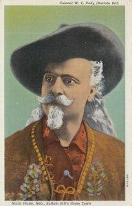 NORTH PLATTE, Nebraska, 1910-20s; Portrait, Colonel W.F. Cody (Buffalo Bill)