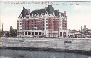 VICTORIA, B.C., Canada, 1900-1910s; The New Can. Pac. Ry. Co., Hotel Empress
