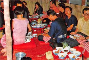 North Siam Thailand Festival Khan Tok feasting in Chiangmai North Siam Festiv...