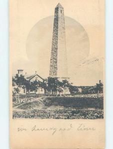 Pre-1907 MONUMENT New London Connecticut CT A2196