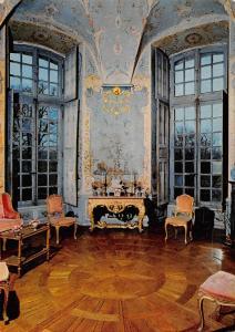 France Chateau d'Haroue (Mthe-et-Melle-54) Salon chinois Peintures de Pillement