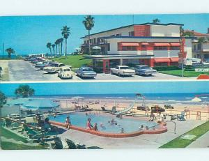 Pre-1980 MOTEL SCENE Daytona Beach Florida FL G7883