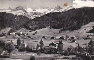 RP; VERS l´Eglise et les Diablerets, Switzerland, PU-1962