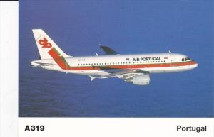 AIR PORTUGAL Airlines A319 Airplane , 80-90s