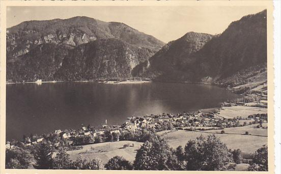 Austria Unterach am Attersee Real Photo