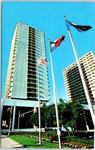 Dallas, Texas Postcard FAIRMONT HOTEL Building View w/ 1979 TX Cancel