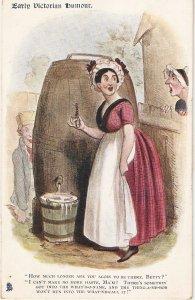 Early Victorian Humour Tuck Oilette Postcard # 1744