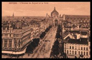 L'Avenue de Keyser et la Gare,Antwerp,Belgium BIN