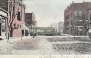 LINTON , North Dakota , 1910 ; Business District