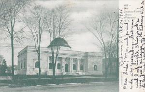 Governor Flower Library Watertown New York 1906