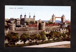 UK Tower of London England Great Britain Valentine Valesque Postcard