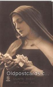 Religion Postcard  Sainte Therese De I'Enfant Jesus