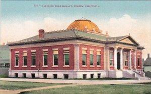 Carnegie Free Library Eureka California