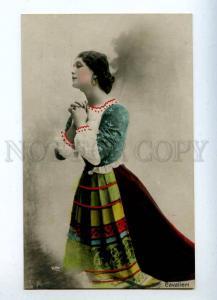 216094 PRAY Lina CAVALIERI Italian OPERA Singer Vintage PHOTO