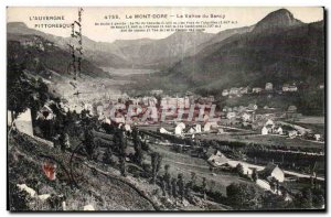 Old Postcard Le Mont Dore The valley of Sancy