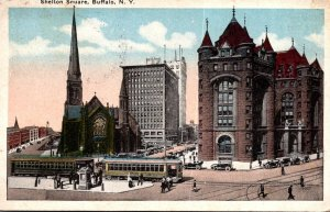 New York Buffalo Shelton Square 1931