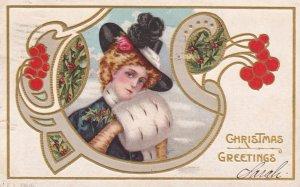 CHRISTMAS girl , 1908