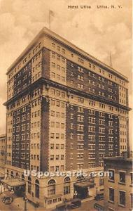 Hotel Utica Utica NY Unused