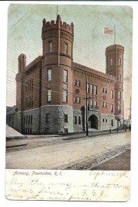 Pawtucket, RI - Armory - 1906