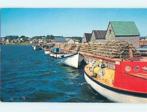Pre-1980 TOWN VIEW SCENE North Rustico Prince Edward Island PE p9759