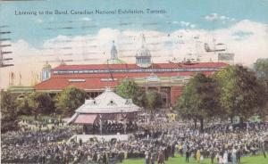 TORONTO, Canada, PU-1929; Listening to the Band, Canadian National Exhibition