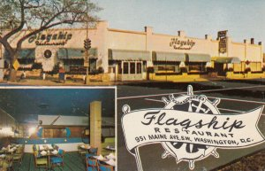 WASHINGTON D.C. , 50-60s ; Flagship Restaurant