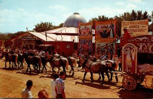 Wisconsin Baraboo Circus World Museum Scene Showing Side Show Of Freaks