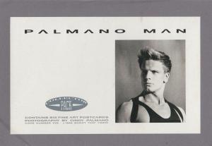 Palmano Man 6x Gay Interest Fashion LGBT Postcard Set