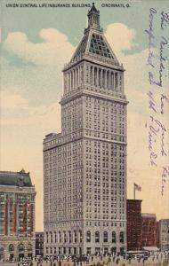 Union Central Life Insurance Bldg , CINCINNATI , Ohio , PU-1914