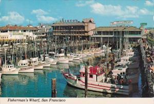 Fisherman's Wharf San Francisco California