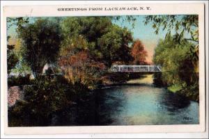 Greetings from Lackawack NY