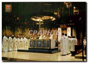 Postcard Modern Montserrat Concelebracio